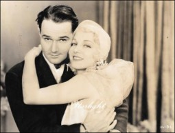 "William Haines & Leila Hyams in ""The Girl Said No"""