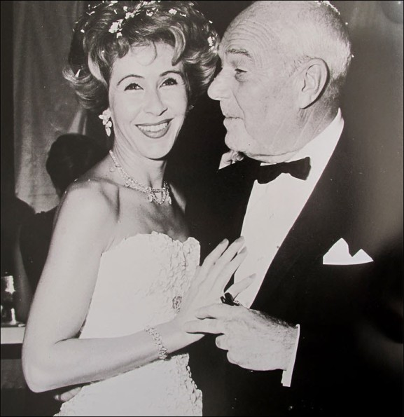 William Haines later in life probably around 1960's with Betsy Bloomindale
